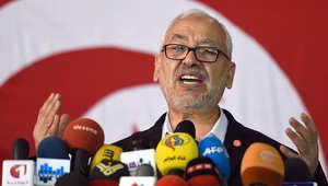 زعيم حركة النهضة التونسية راشد الغنوشي