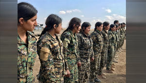 القيادة المركزية للجيش الأمريكي تنشر صورا من معسكر تدريبي لقوات سوريا الديمقراطي