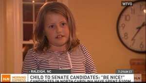 صورة ملتقطة من التلفزيون للصبية