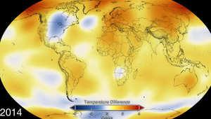 بعد إعلان 2014 الأعلى بدرجات الحرارة منذ العام 1880.. تعرف على تغير الحرارة في دولتك
