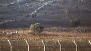 الجيش الإسرائيلي يقصف مواقع للجيش السوري رداً على قذيفة سقطت بالجولان