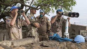تقارير: إطلاق النار على موقع لجنود دوليين محاصرين بالجولان ولا أنباء عن ضحايا