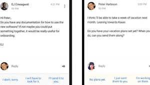 يزعجك عدد الرسائل التي تتلقاها؟ جوجل الآن يمسح بريدك الإلكتروني ويقترح الردود!