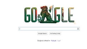 جوجل يحتفل باستقلال الجزائر