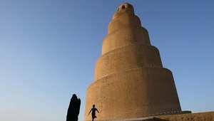 المسجد الكبير في سامراء  بالعراق