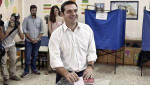 """اليونان.. """"الديمقراطية الجديدة"""" يقر بخسارته أمام """"سيريزا"""""""