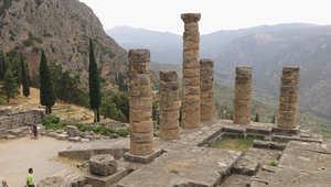 صورة ارشيفية لآثار يونانية