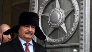 موسكو تطالب بمشاركة خليفة حفتر في القيادة الجديدة لليبيا