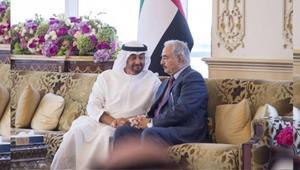 ولي عهد أبو ظبي يستقبل حفتر: نقدر دوره في محاربة الإرهاب