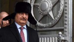 """حفتر يتهم قطر بـ""""دعم الإرهاب"""""""