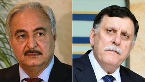 السراج وحفتر يتوصلان إلى اتفاق بوقف إطلاق النار وإجراء انتخابات