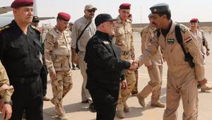 """رئيس الوزراء العراقي يعلن وصوله إلى """"الموصل المحرّرة"""""""
