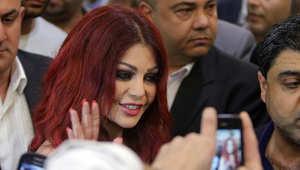 """هيفاء وهبي في حفل إطلاق فيلمها الجديد """"حلاوة روح"""""""