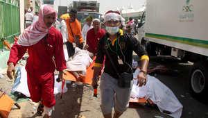 """مصر ترفع ضحاياها في """"تدافع الحجاج"""" إلى 78 متوفياً"""