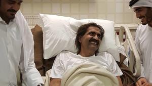 شرخ في الساق يدفع والد أمير قطر إلى إجراء عملية جراحية