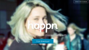 """هل أعجبك شخص ما؟ التقط صورته وتعرف عليه بتطبيق """"Happn"""" الجديد"""