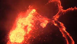 مناظر خلابة لبركان كيلوا بهاواي