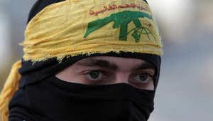 أحد مقاتلي حزب الله في لبنان