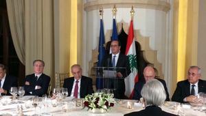 هولاند يتعهد بـ169 مليون دولار للبنان للتعامل مع أزمة اللاجئين وبمساعدات عسكرية ويؤكد وقوف فرنسا مع بيروت