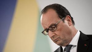 الرئيس الفرنسي: طائرة مصر للطيران تحطمت.. ولا يمكن استبعاد أي فرضية