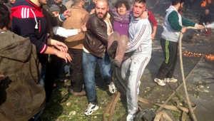 سوريا: تفجير سيارة مفخخة وسقوط قذائف هاون
