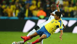 من مباراة هندوراس والإكوادور