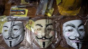 """شرطة هونغ كونغ تعتقل 9 أعضاء بـ""""جماعة متشددة"""" بتهمة """"التآمر"""" لصنع متفجرات"""