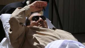 صورة أرشيفية للرئيس المصري الأسبق حسني مبارك