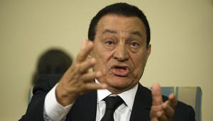 الرئيس المصري الأسبق حسني مبارك