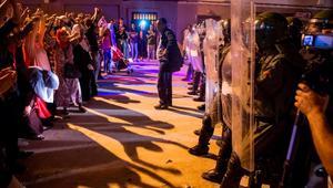 مواجهات بين الأمن ومتظاهرين شمال المغرب خلال يوم العيد