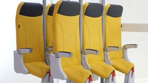 انظر جيداً..تصميم مقاعد الطائرات قد يُصبح بهذا الشكل