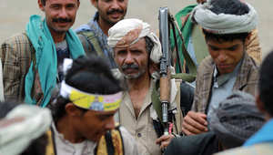 عناصر من المقاتلين الحوثيين