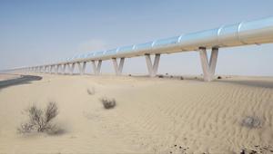 قطار هايبرلوب يصل بين دبي و أبوظبي بـ12 دقيقة