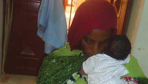 صورة لإبراهيم أثناء احتجازها بالسجن