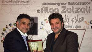 أريباأريبا يختار علاء زلزلي سفيراً للشرق الأوسط وشمال افريقيا