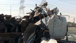 حادث اسفر عن 13 وفاة