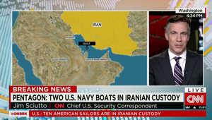 إيران: عطل بنظام الملاحة تسبب في دخول البحارة الأمريكيين المياه الإيرانية.. ونرجح الإفراج عنهم قريبا