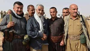 """إيران: قاسم سليماني """"بطل مغوار"""" يقود العراقيين ضد داعش.. و""""التحالف الدولي"""" يضمحل"""