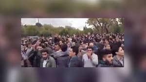 """احتجاجات في أذربيجان ضد سياسات إيران """"العنصرية"""".. ومغردون: فليشاهد العالم حكم الملالي على حقيقته"""
