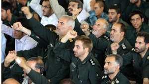 ضباط من قوات حرس الثورة الإيراني