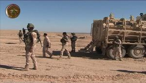 شاهد.. معارك شرسه يخوضها الجيش العراقي مع مقاتلي داعش غرب سامراء