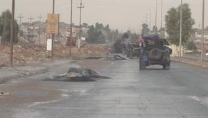 معارك الجيش العراقي ضد داعش شرق الموصل