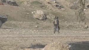 شاهد.. معارك بين الشرطة العراقية وتنظيم داعش