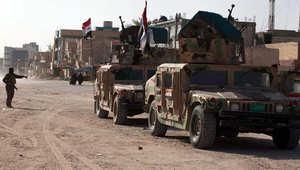 تعزيزات عسكرية عراقية في كربلاء
