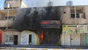العراق: الحشد الشعبي ينسحب إلى أطراف تكريت بعد عمليات النهب الواسعة والنجيفي يحذر من تفجّر صراع طائفي