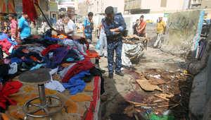 """العراق.. 12 قتيلاً بتفجير سوق للشيعة تبناه """"داعش"""""""