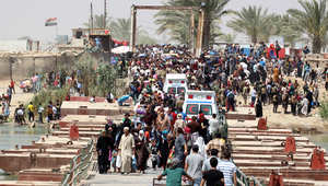 "تقرير: نزوح 3.1 مليون عراقي بسبب ""حرب داعش"""