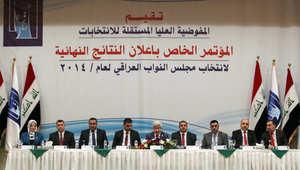 """انتخابات العراق.. 92 مقعداً لـ""""دولة قانون"""" المالكي.. و21 لـ""""وطنية"""" علاوي"""