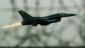 """تحطم """"إف 16"""" عراقية بأمريكا وغموض مصير قائدها"""