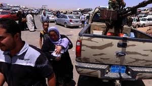 """""""داعش"""" تتقدم في معاقل سابقة لصدام.. التركيز على بغداد.. مقتل المئات وفرار عشرات الآلاف"""